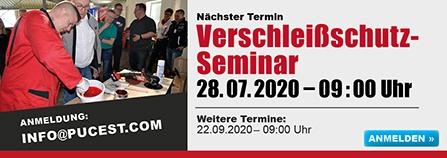 Mehr zum Verschleißschutz-Seminar